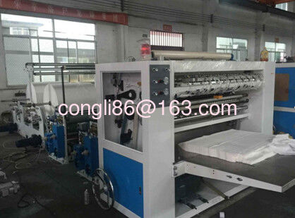 RC-6L Facial tissue 6 lane folding machine (With emboss unit)